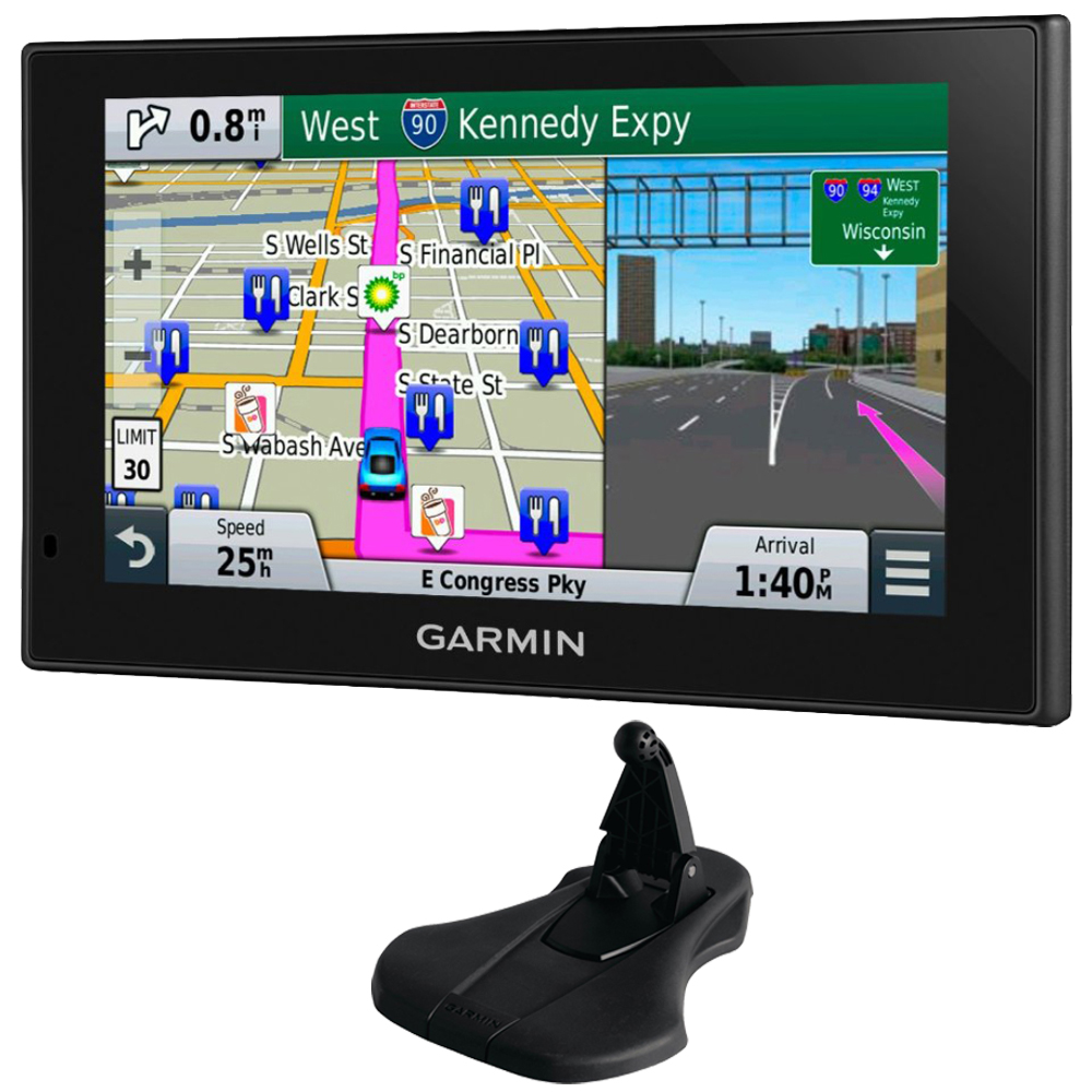 "Garmin nuvi 2699LMT HD 6"" GPS with Lifetime Maps & HD Traffic Friction Mount Bundle includes nuvi 2699LMT and Portable Friction Mount"