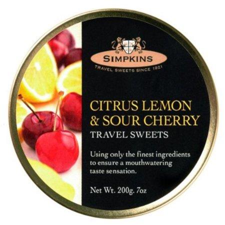 Simpkins Citrus Lemon & Sour Cherry 200g Sour Pie Cherries