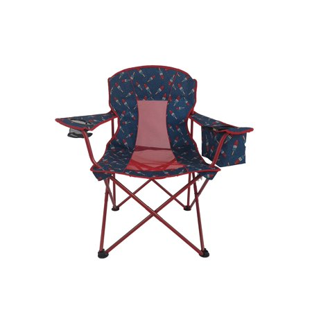 Ozark Trail Oversized Mesh Folding Cooler Chair Bombpop