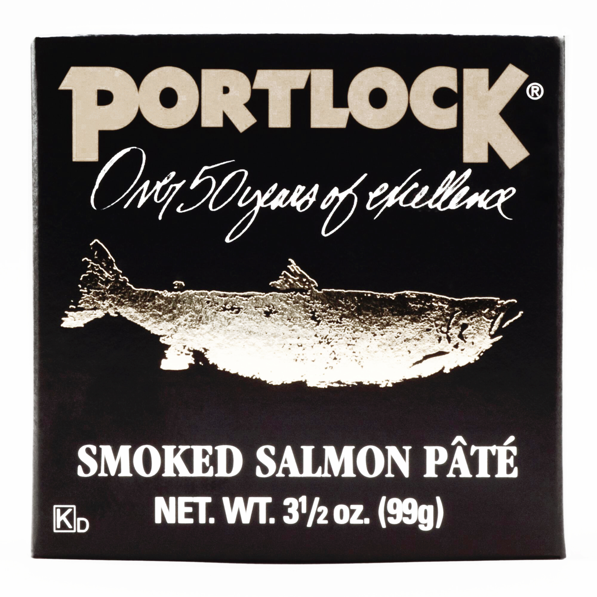 Portlock Smoked Salmon Pate \t3.5 oz each (1 Item Per Order, not per case) by