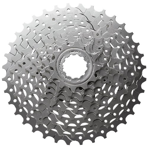 2015 Shimano Alivio HG400 9 Speed Cassette Silver 12-36T..., By SRAM Ship from US
