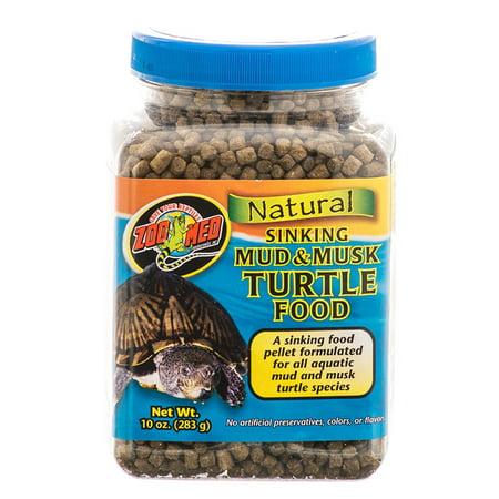 Zoo Med Natural Sinking Mud & Musk Turtle Food 10 oz