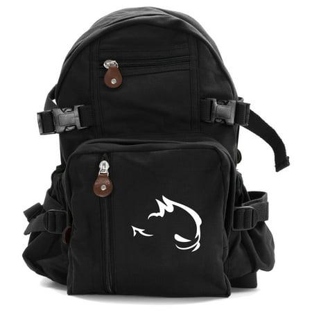 GTI Devil Heavyweight Canvas Backpack