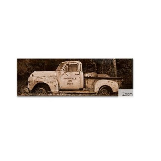 12 x 15 in. Truck Nashville Wood Print - image 1 of 1