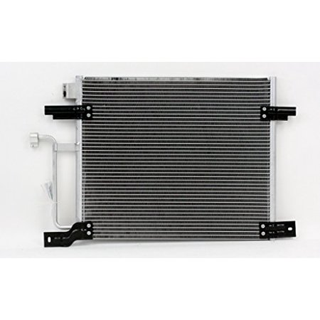 A-C Condenser - Pacific Best Inc For/Fit 4929 00-04 Dodge Dakota 2004 4.7L Only Exc.3.7L