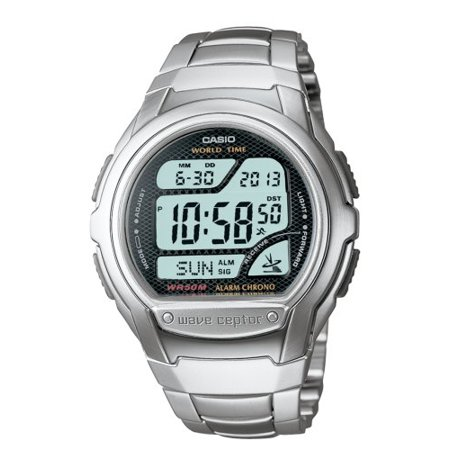 Men's WV58DA-1AV Waveceptor Digital Atomic Sport Watch