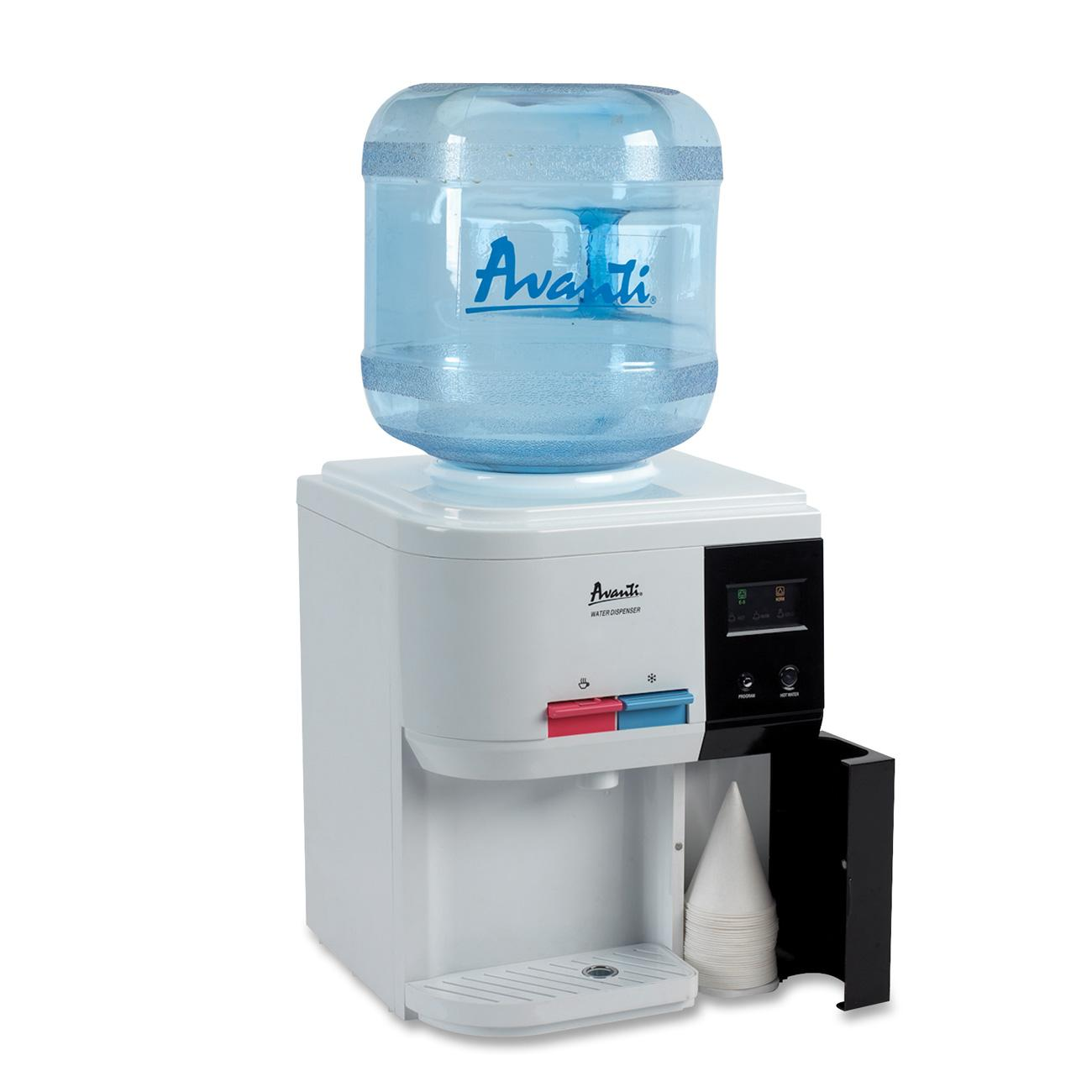 Avanti, AVAWD31EC, Table Top Thermoelectric Water Cooler, 1, White