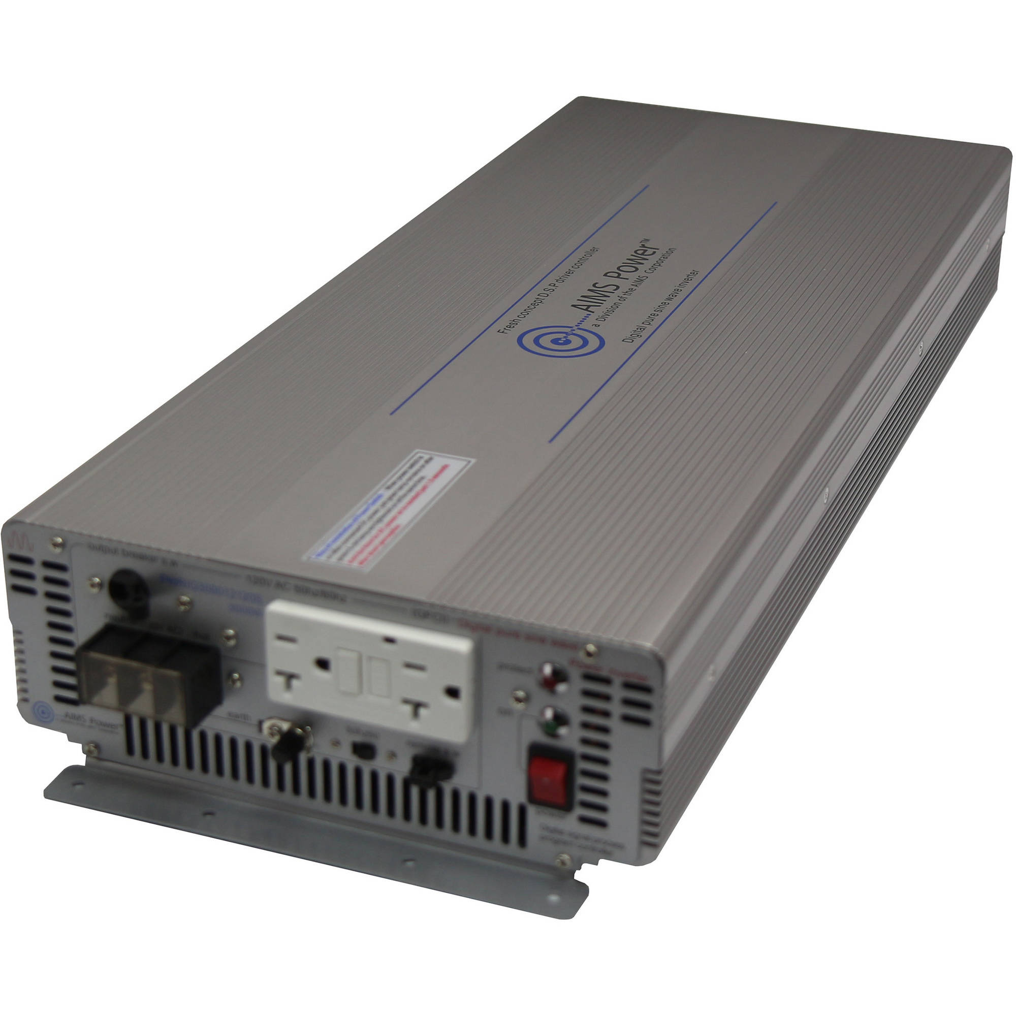 AIMS Power 3000 Watt 24 Volt Pure Sine Inverter with GFCI