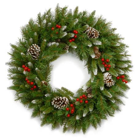 """24"""" Frosted Berry Wreath - image 1 de 1"""