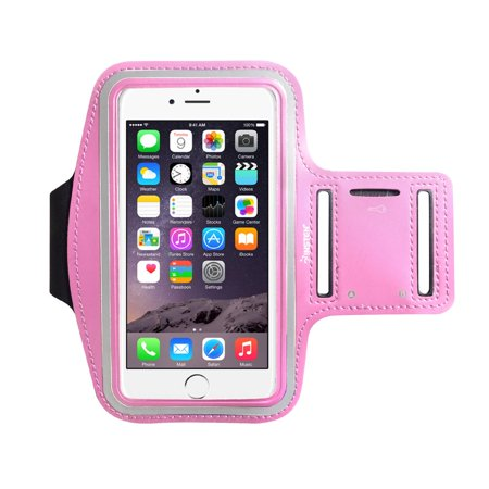 check out e19e6 308bb Insten Running Jogging Workout Gym Armband Sportband Pouch Holder Case  (5.67