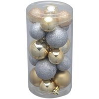 Holiday Time 20-Pack Gold/Silver Round