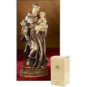 CB Catholic ND131 Bellavista 6 in. Saint Anthony Statue