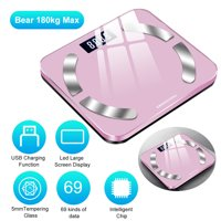 Body Fat Scales Home Use Intelligent BT Electronic Weight Scale USB Charging High Digital BMI Scale Water Mass Health Body Composition Analyzer Monitor