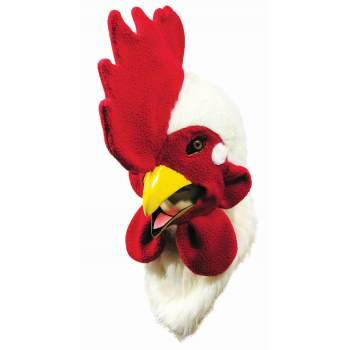 MOVING MOUTH MASK - ROOSTER (Moving Mouth Halloween Mask)