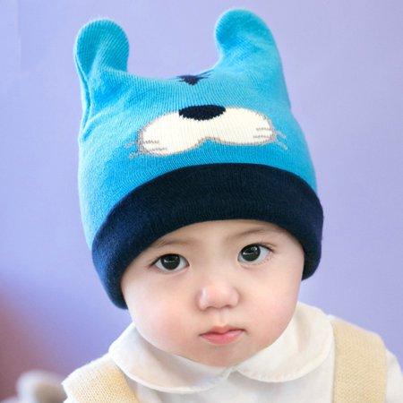 f37352b89 Newborn Kids Baby Boy Girl Cartoon Hat Winter Warm Knit Crochet Beanie Cap