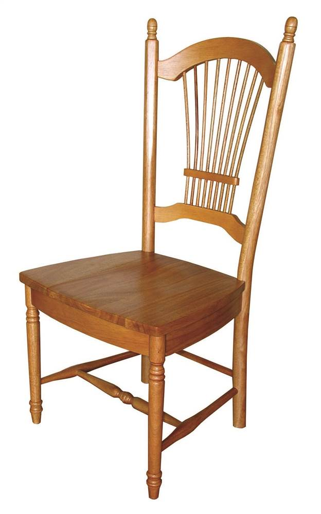 Allenridge Dining Chair in Light Oak Finish Set of 2 by Sunset Trading
