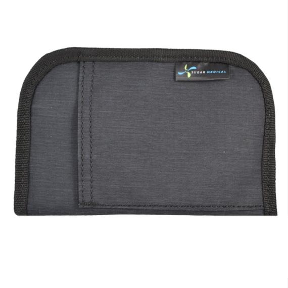 Sugar Medical Universal Diabetes Supply Bag / Case / Organizer - Charcoal