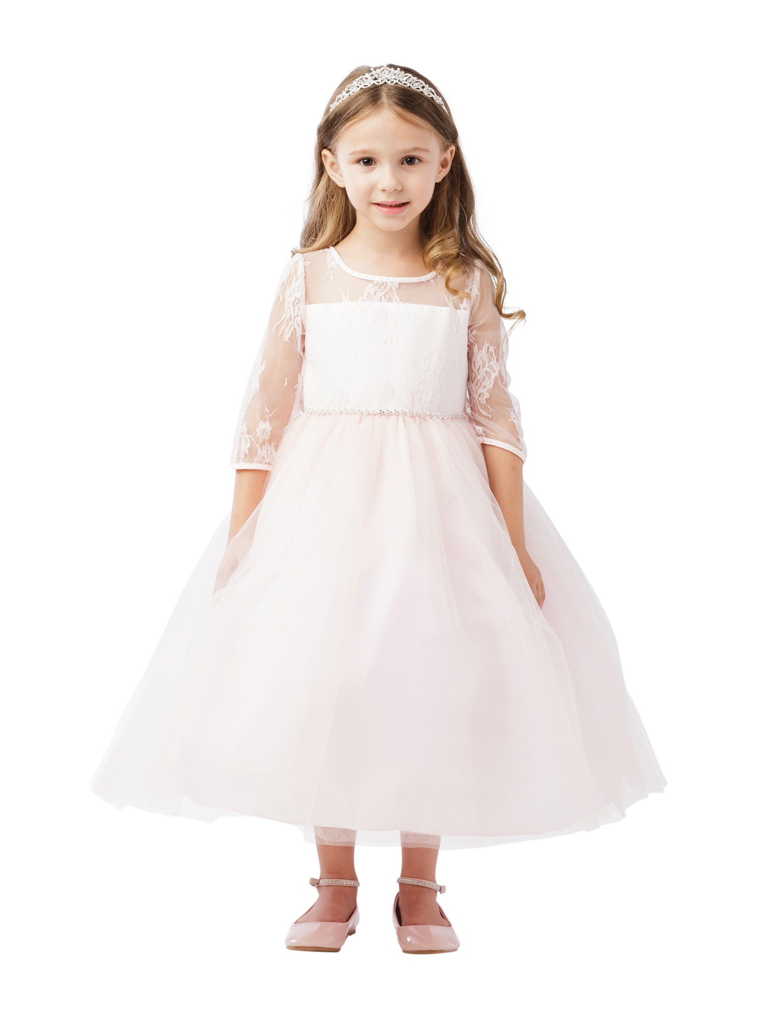 662049cf2a60 Jr Bridesmaid Dresses Blush | Saddha