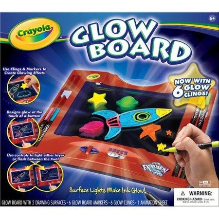 Crayola Color Explosion Glow Board - Walmart.com