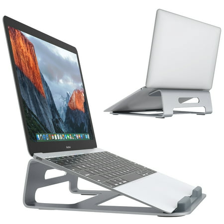 Slypnos Aluminum Adjustable Laptop Stand Riser for MacBook, Surface Book, Chromebook and...
