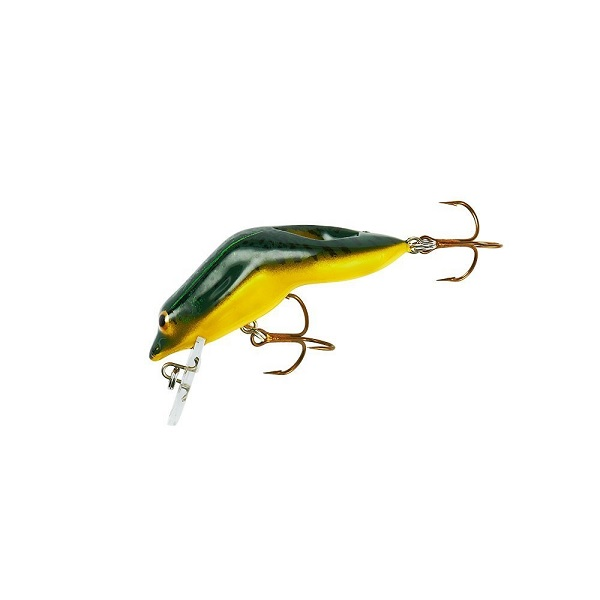 Rebel Lures Wee Frog Fishing Lure (2-Inch, Green Bull Frog) Multi-Colored by REBEL LURES