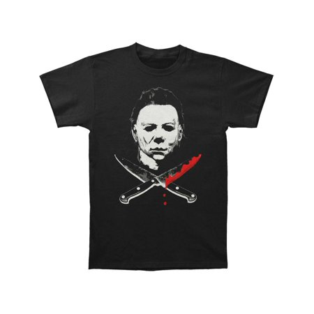 Halloween Music Mike Myers (Halloween Men's  Mike Myers T-shirt)