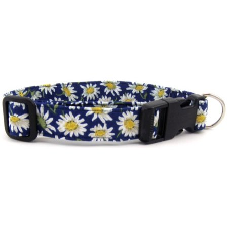 Blue Daisies Dog Collar - Size - Large ()