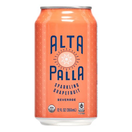 Image of Alta Palla Sparkling Beverage, Grapefruit, 12 Oz