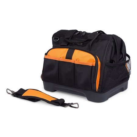 Internet's Best 14 inch Soft-Sided Tool Bag with Rigid (Best Cheap Tool Brand)