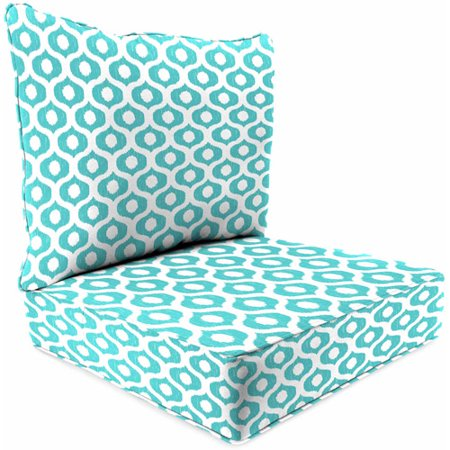 Jordan Manufacturing Outdoor Patio 2 Piece Deep Seat Chair Cushion