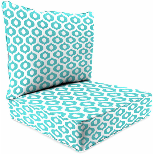 jordan outdoor patio 2 piece deep seat chair cushion