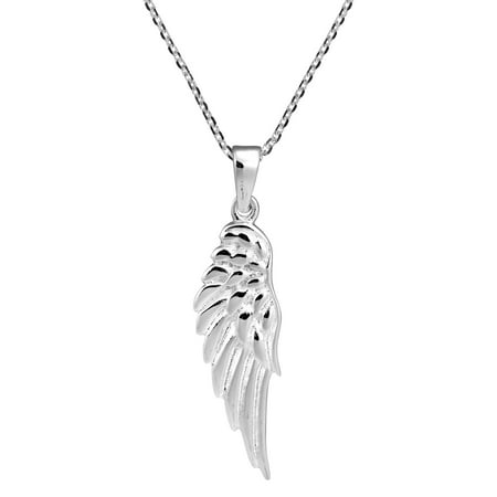 Enchanting Single Angel Wing .925 Sterling Silver