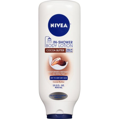 NIVEA® In-Shower Cocoa Butter Body Lotion 13.5 fl. oz.