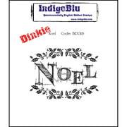"IndigoBlu Cling Mounted Stamp, 3"" x 4"", Noel, Dinkie"