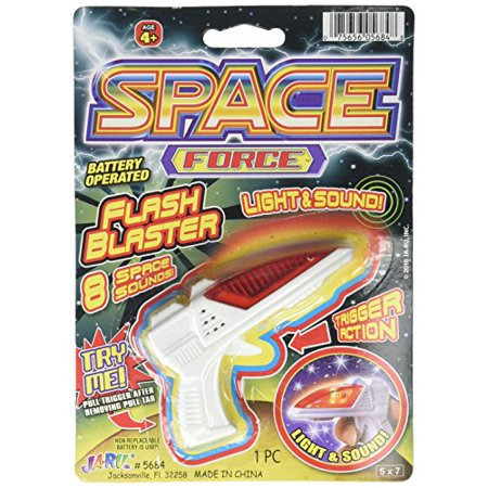 12 Blister Packs (Space Force Flash Blaster, Colors may Vary (Pack of)