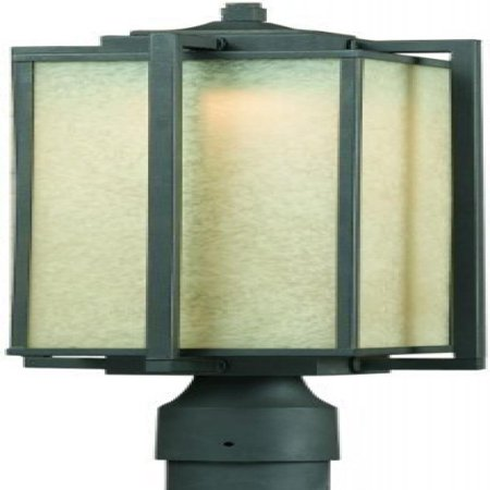 Triarch 79126-10 Troy LED Post Mount Light, Oil-Rubbed (Bs Triarch Lighting)