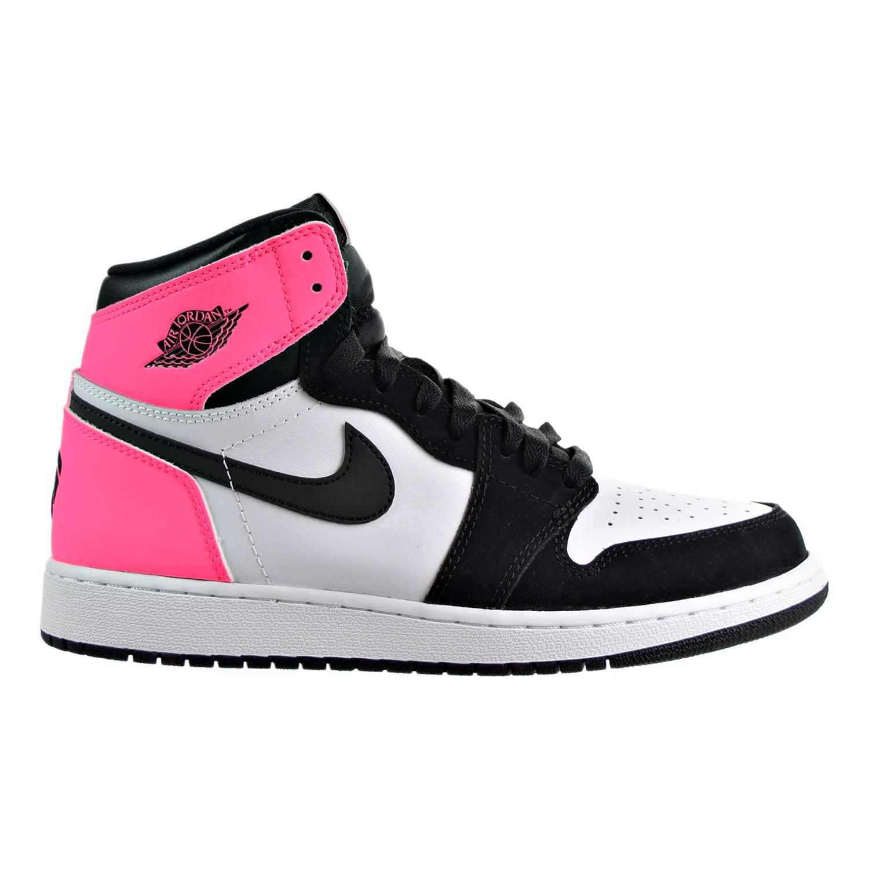 Jordan - Air Jordan 1 Retro High OG Boys Shoes Black/Hyper-Pink/White 881426-009 - Walmart.com