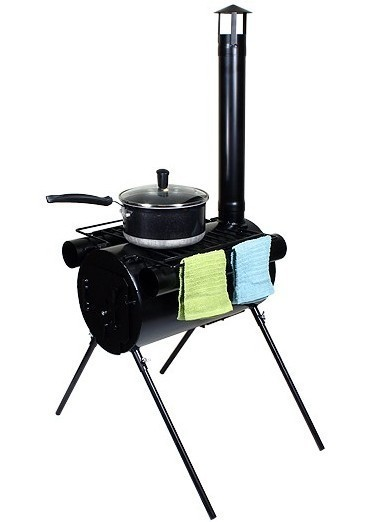 TMS Portable Military C&ing Stove Tent Heater Cot C& Ice-Fishing Cooking RV  sc 1 st  Walmart.com & TMS Portable Military Camping Stove Tent Heater Cot Camp Ice ...