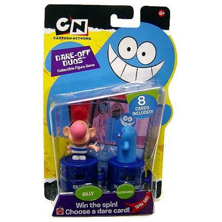 Cartoon Network Collectible Figure Game Billy   Blooregard Figure 2 Pack