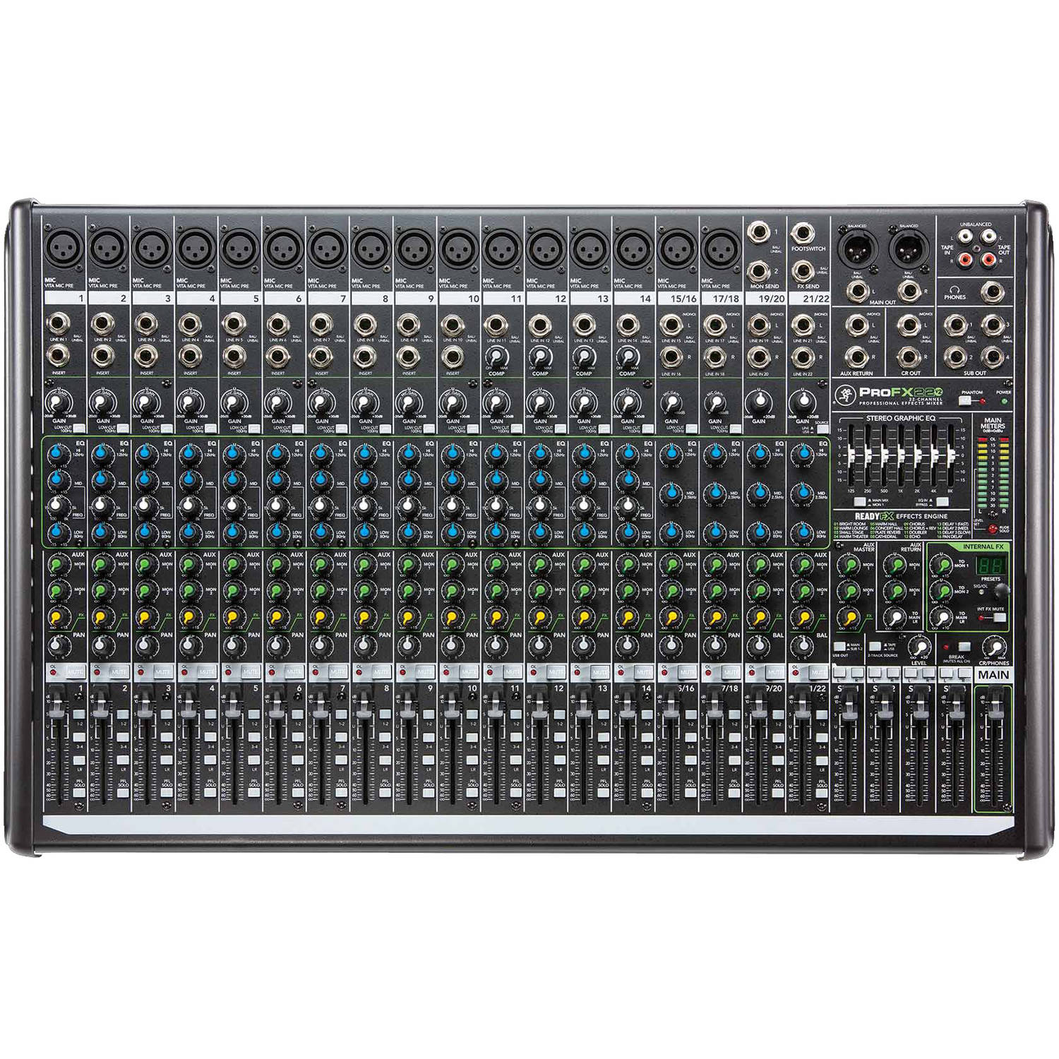 Mackie ProFX22V2 22-Channel Effects Mixer w/USB