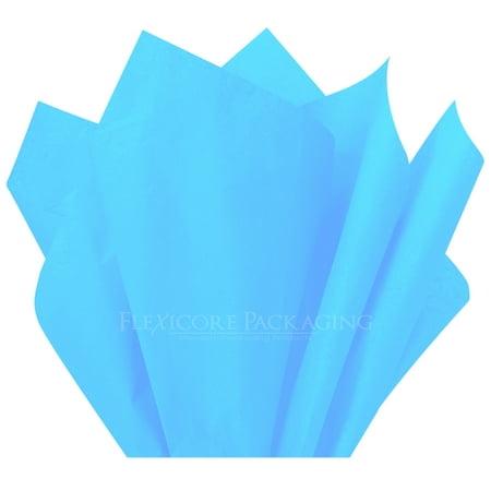 Light Blue Tissue Paper, 15