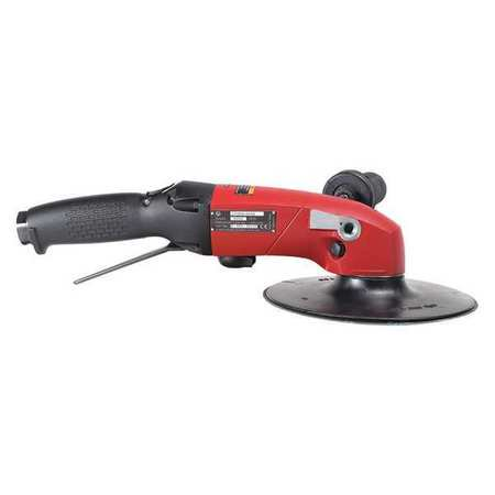 "CHICAGO PNEUMATIC CP3850-77AB 7"" Air Angle Sander 2.8 HP 7700 rpm"