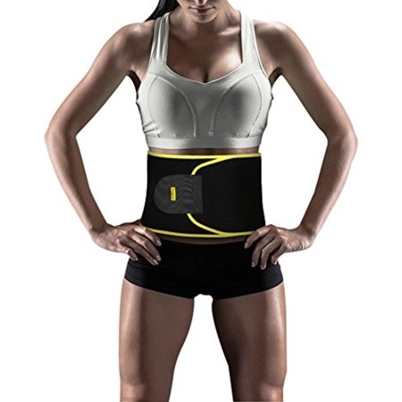 Yosoo Waist Trimmer Belt - Neoprene Waist Sweat Band for Slimmer Water Weight Loss Mobile Sauna Tummy Tuck Belts Strengthen Tummy Abs During Exercising Workout, for Women,