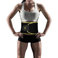 Product Image Yosoo Waist Trimmer Belt Neoprene Sweat Band For Slimmer Water Weight Loss Mobile Sauna