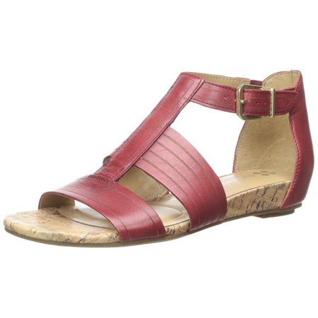 494e6181987f Naturalizer - Womens Longing Leather Open Toe Casual T-Strap Sandals ...