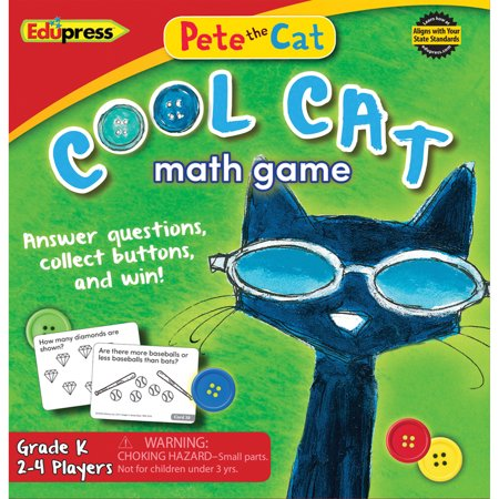 PETE THE CAT COOL CAT MATH GAME G-K - Cat In The Hat Game