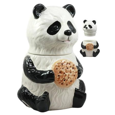 Ebros The Kung Fu Dragon Warrior Giant Panda Ceramic ...