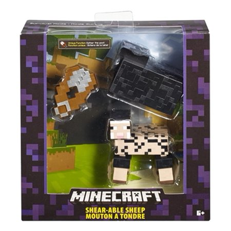 Sheep Nativity Figure (Minecraft Shear-able Sheep Basic Action Figure)
