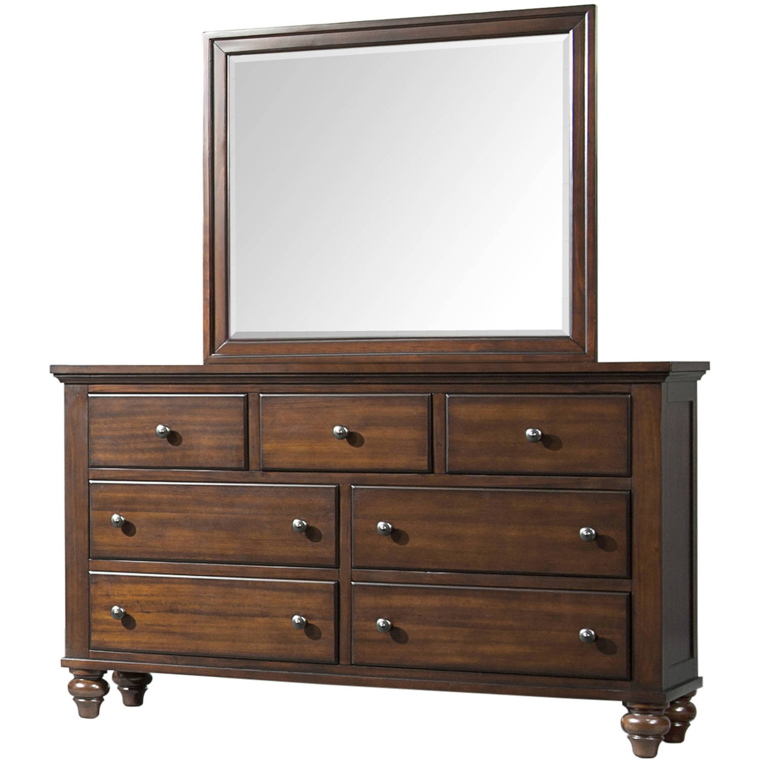 Picket House Furnishings Channing Dresser and Mirror Set