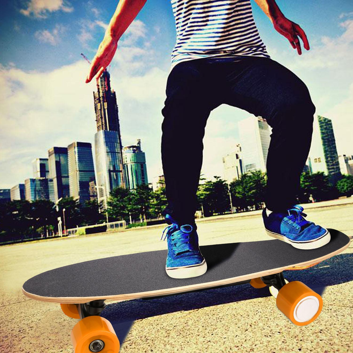 Electric Longboard � UL 2272 Certified Motorized Electric Skateboard with Wireless Remote WIMA by